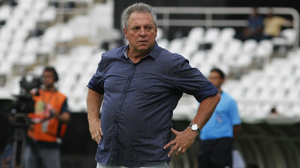 Abel Braga no Fluminense x Vasco, Carioca 2017