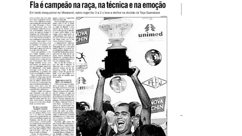 Fla-Flu Taça Guanabara 2004 O Globo