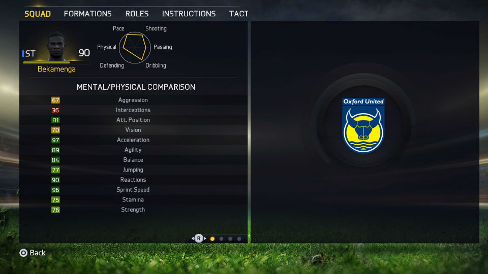 Modo carreira Fifa 15