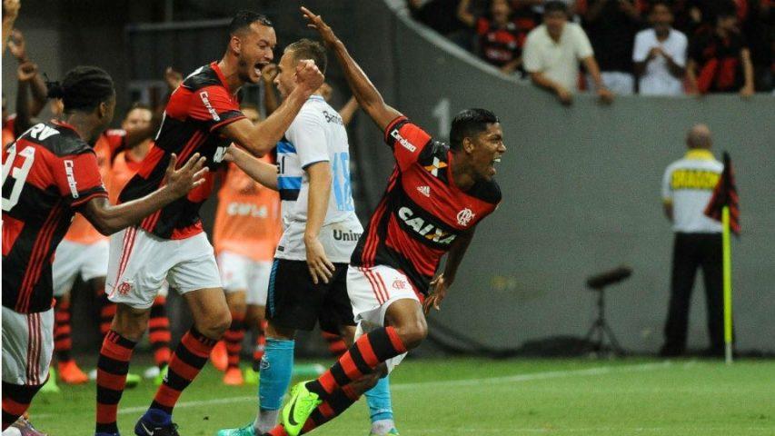 Berrío estreia no Flamengo em 2017