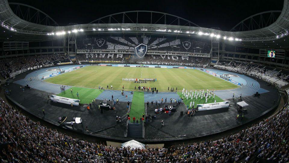 Estádio Nilton Santos, o Engenhão, na Libertadores