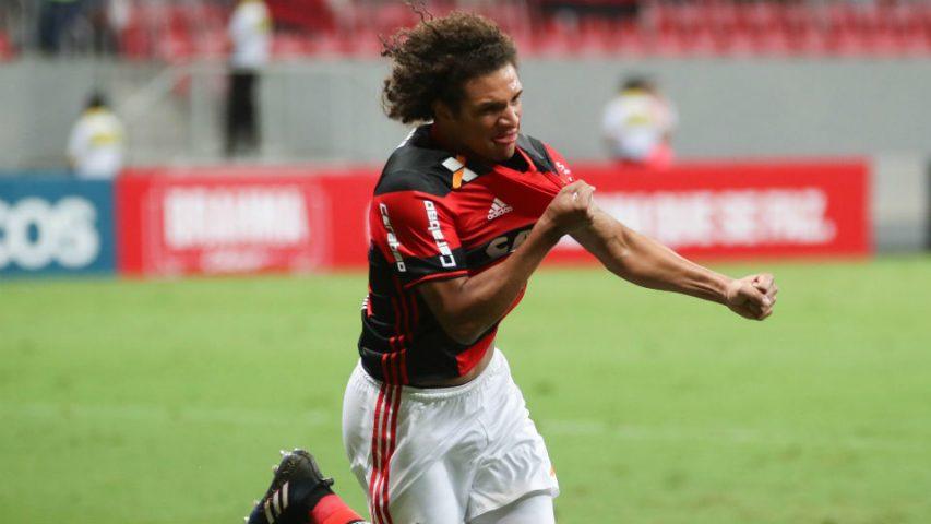 Flamengo Vasco Mané Garrincha Taça Rio 2017 Willian Arão