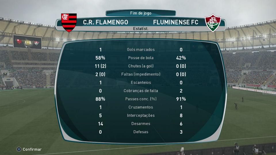 Flamengo Fluminense PES 2017