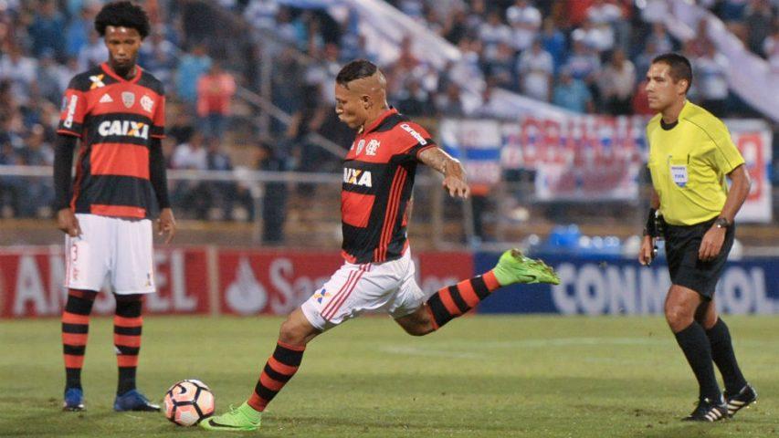 Guerrero Flamengo 2017 Libertadores Universidad Católica