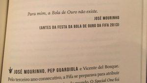 Mourinho Rockstar livro
