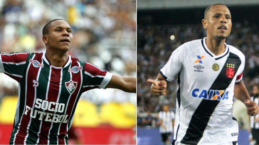 Fluminense Vasco semifinal Carioca 2017 Luis Fabiano Wellington