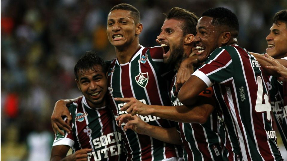 Fluminense Henrique gol Goiás Maracanã Copa do Brasil 2017