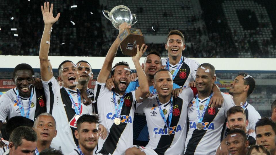 Vasco campeão Taça Rio 2017 Nenê Luis Fabiano