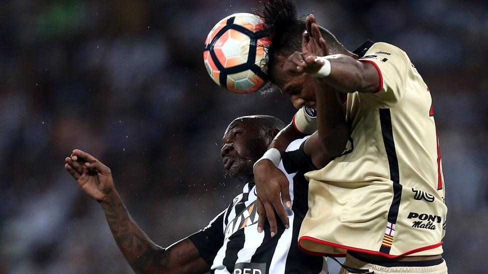 Sassá Botafogo Libertadores Barcelona-EQU