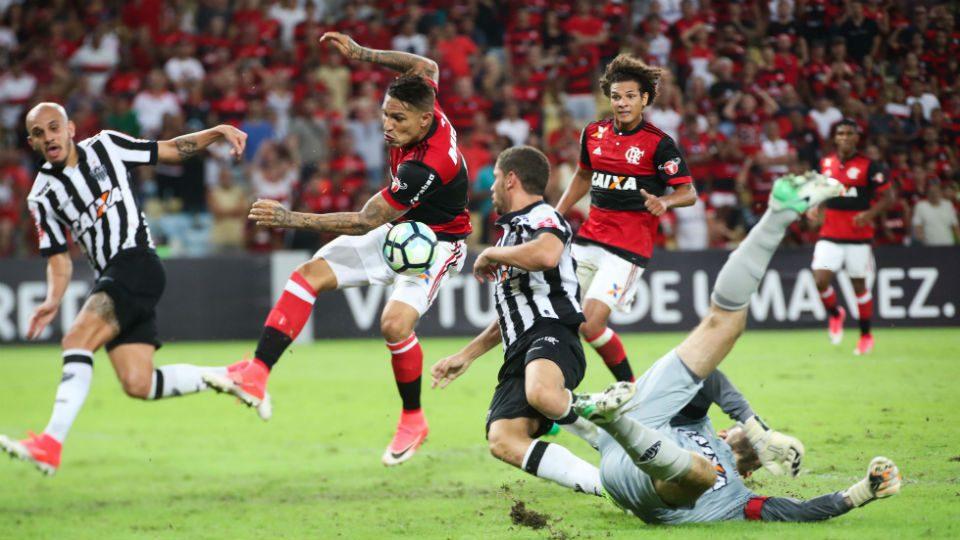 Guererro Flamengo Atlético-Mg 2017 Maracanã