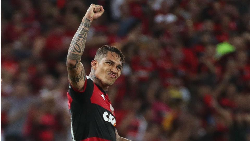 Guerrero Flamengo Libertadores 2017 Universidad Católica