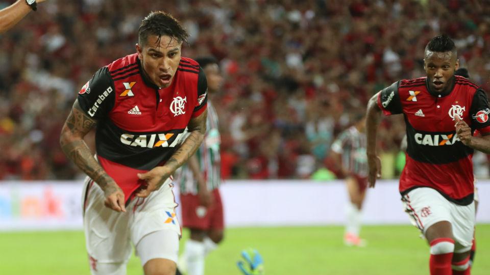 Guerrero gol Fluminense Carioca final 2017 Maracanã