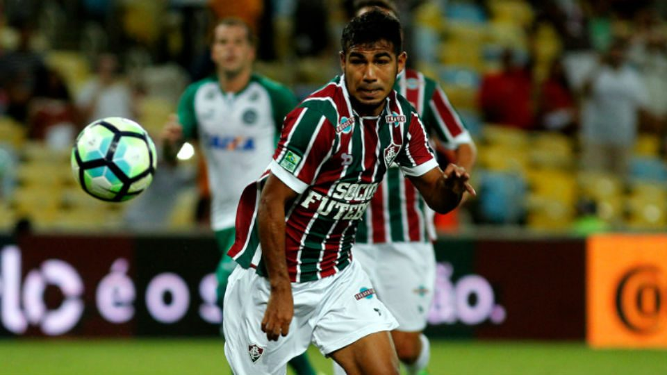 Sornoza Fluminense 2017 Maracanã Goiás Copa do Brasil