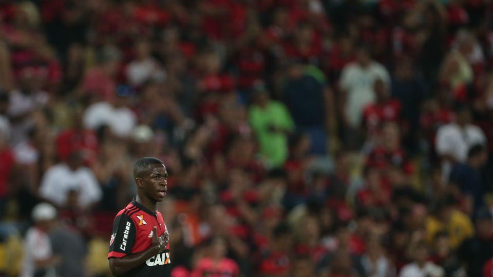 Vinicius Junior Flamengo Maracanã 2017