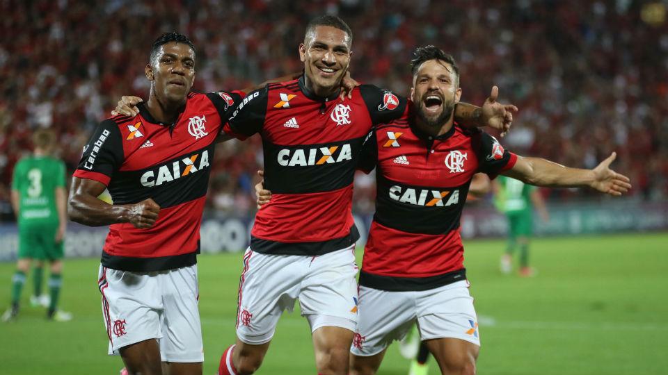 Berrío Guerrero Diego Flamengo Chapecoense 2017