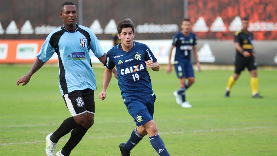 Conca Flamengo jogo-treino Mesquita