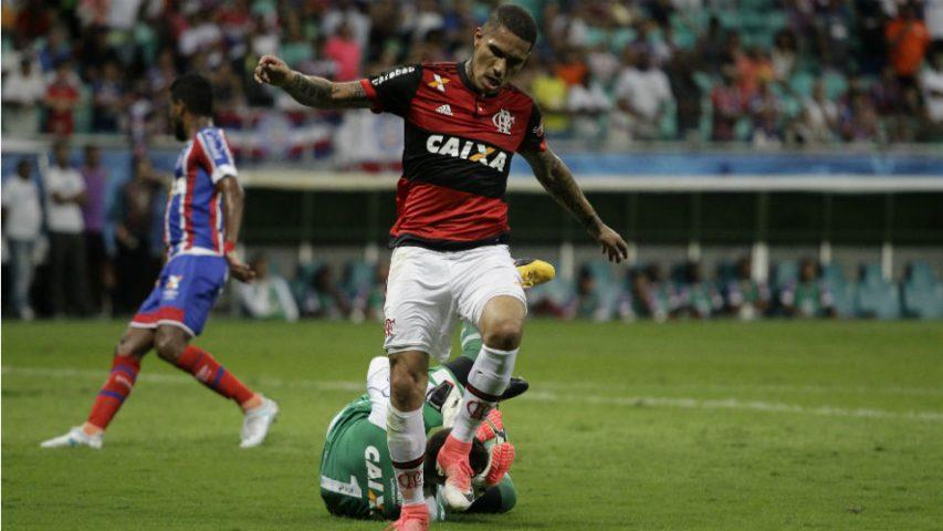 Guerrero Flamengo Bahia Fonte Nova
