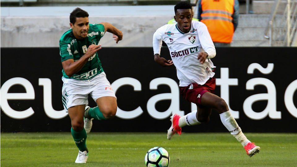 Jan Marquinhos Calazans Fluminense Palmeiras