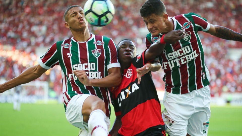 Vinicius Junior Richarlison Mascarenhas Fla-Flu