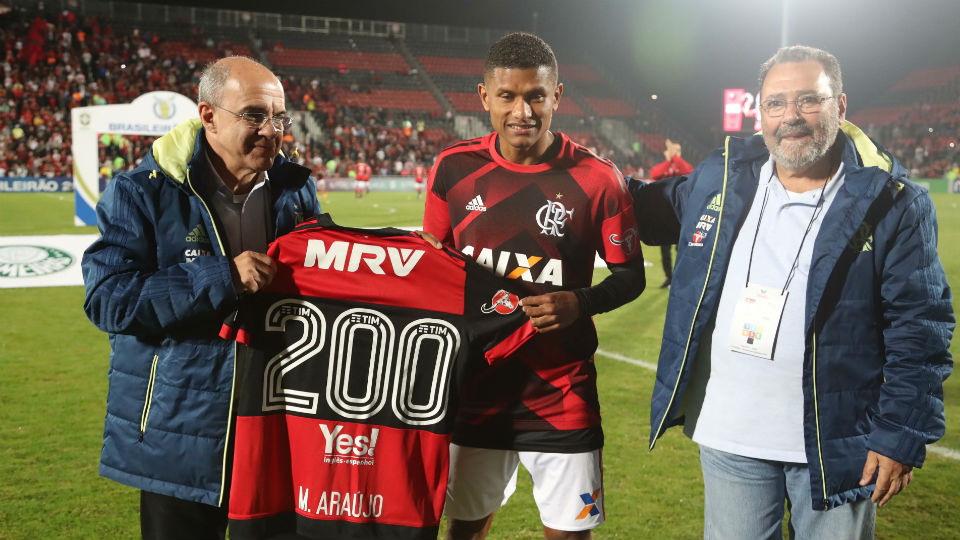 Márcio Araújo Flamengo 200 jogos