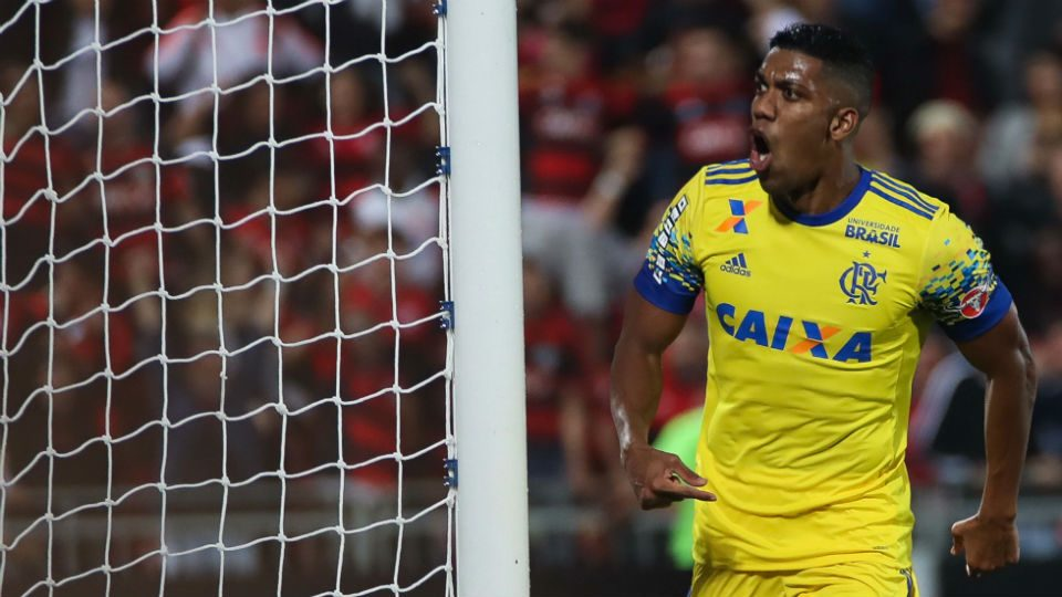 Berrío Flamengo Ilha do Urubu