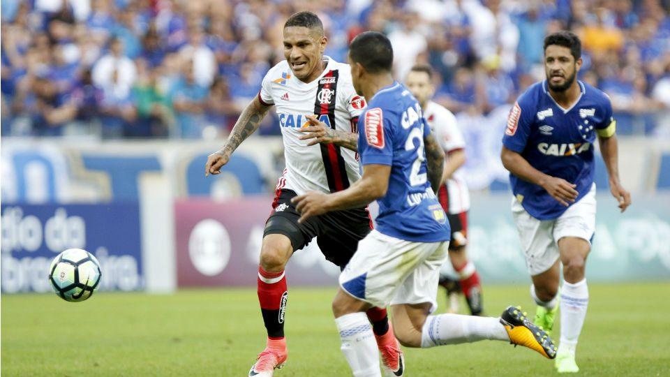 Guerrero Flamengo Cruzeiro Mineirão 2017