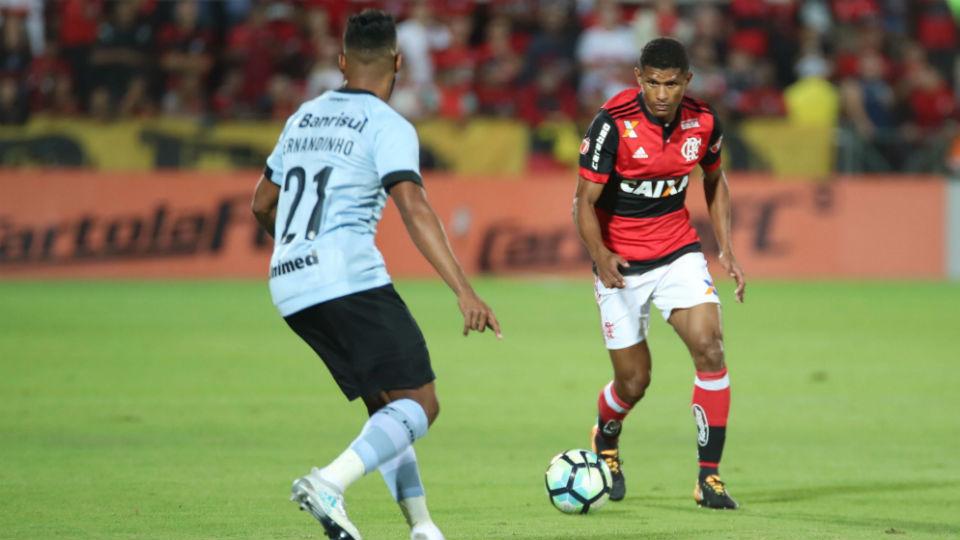 Márcio Araújo Flamengo Grêmio 2017