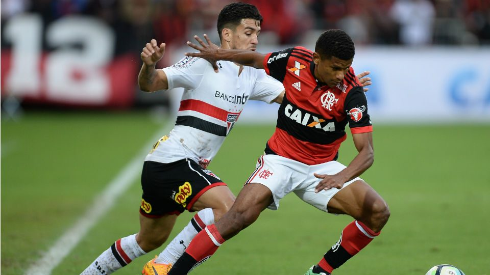 Márcio Araújo Flamengo São Paulo