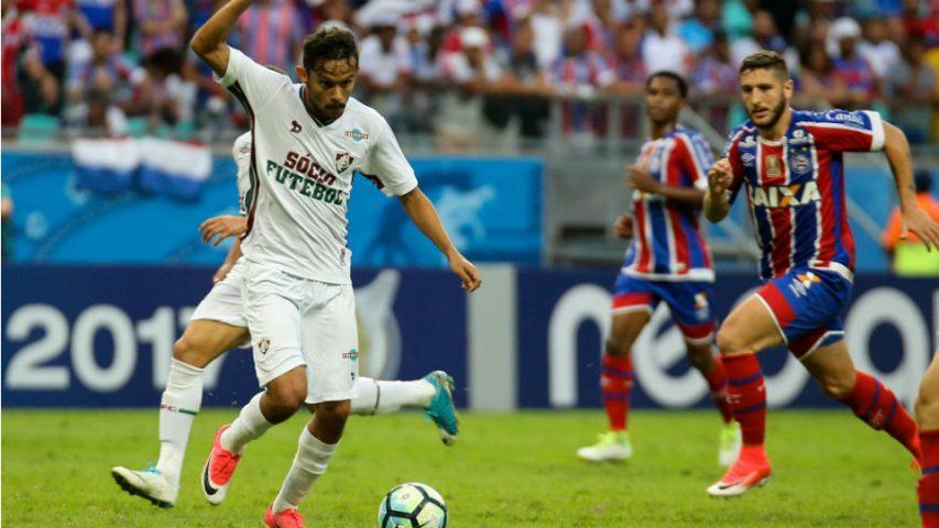Gustavo Scarpa Bahia Fluminense 2017
