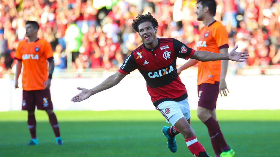 Willian Arão Flamengo Ilha do Urubu Atlético-PR 2017