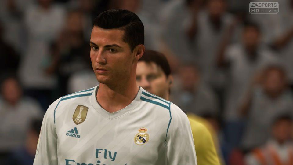 Fifa 18 Cristiano Ronaldo Real Madrid