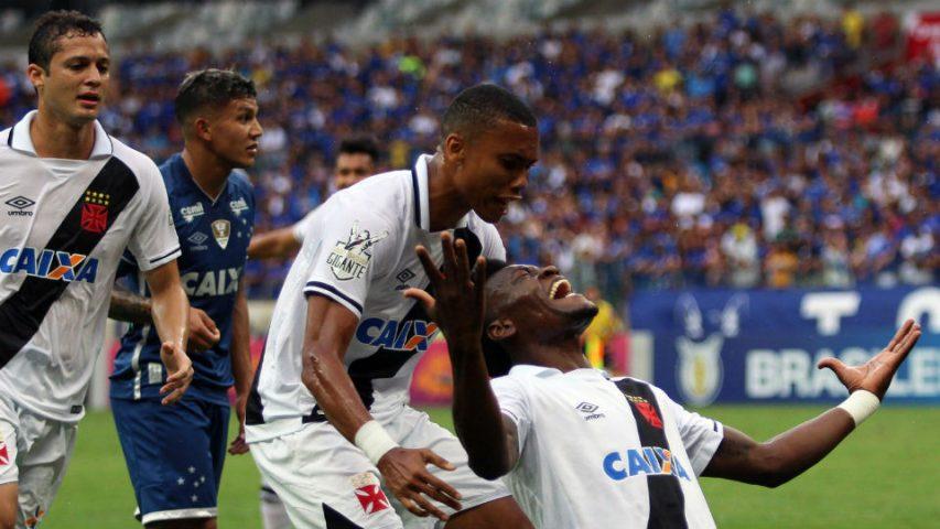Paulão Vasco Cruzeiro Campeonato Brasileiro 2017