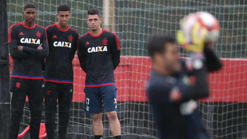 Julio Cesar Flamengo Hugo Souza Victor Hugo Yago Darub