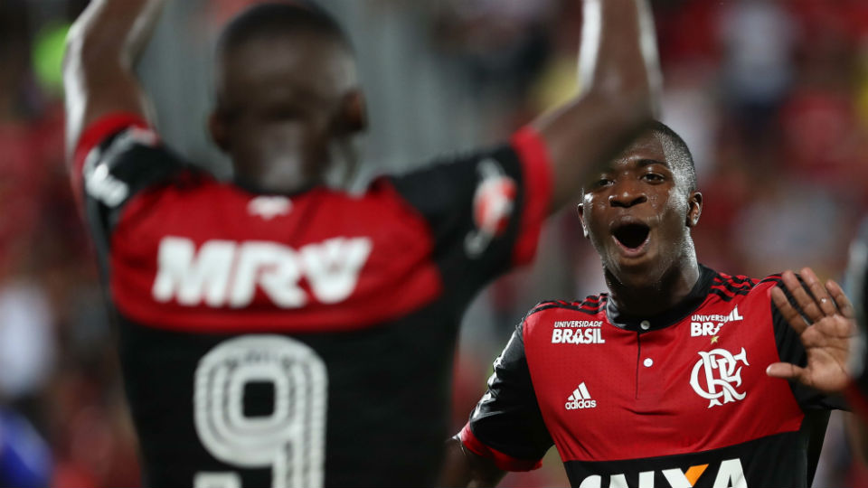 Lincoln Vinicius Junior Flamengo Ilha do Urubu