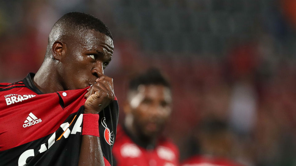 Vinicius Junior Flamengo Cabofriense 2018