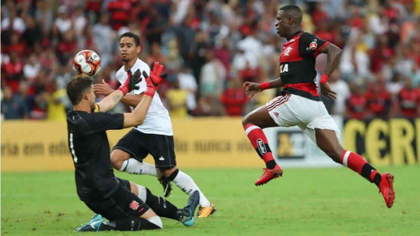 Vinicius Junior Flamengo Vasco Maracanã 2018 Martin Silva