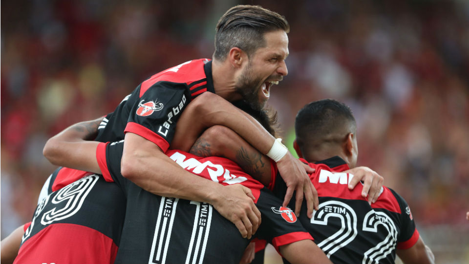 Diego Flamengo Botafogo semifinal Taça Guanabara 2018