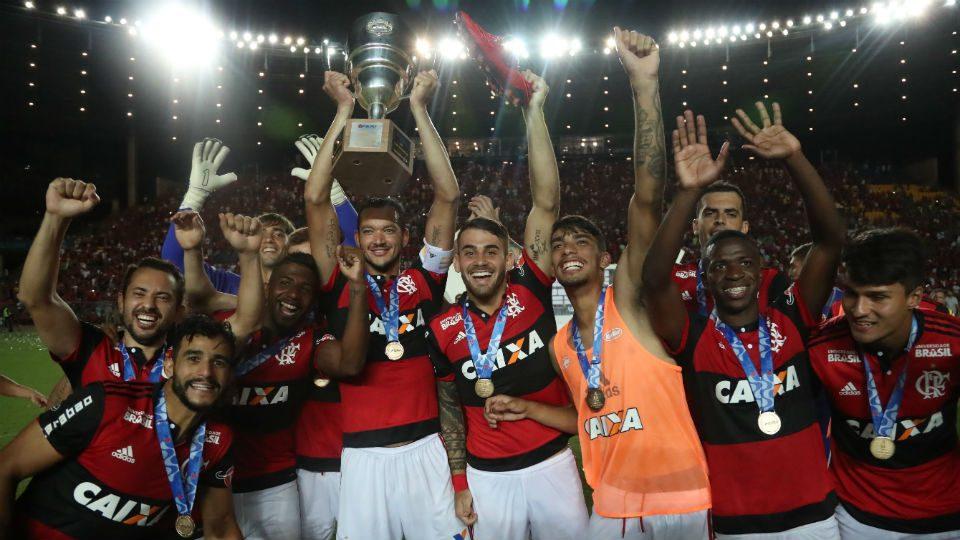 Flamengo campeão Taça Guanabara 2018