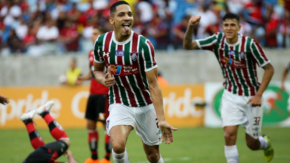 Gilberto Fluminense Fla-Flu 2018 Taça Rio Arena Pantanal
