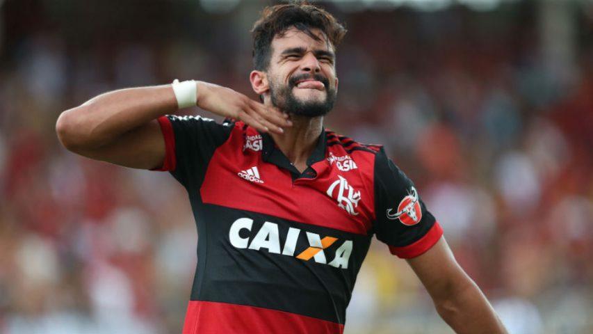 Henrique Dourado Ceifador estreia Flamengo Botafogo gol