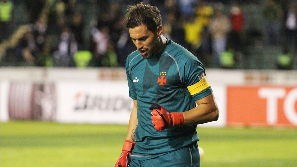 Martín Silva Vasco classificação Jorge Wilstermann Libertadores 2018