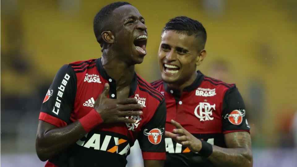 Vinicius Junior Flamengo Botafogo Taça Guanabara