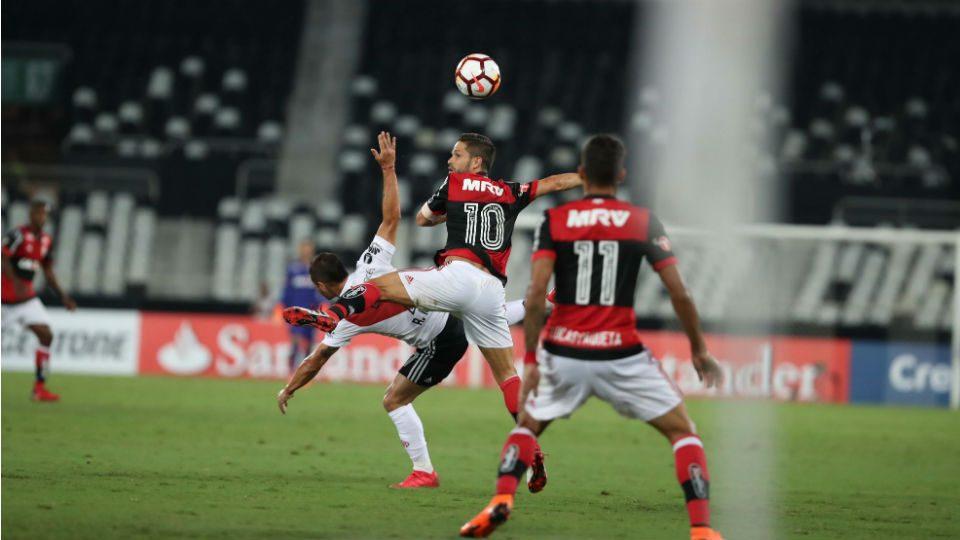 Diego Flamengo Libertadores estreia