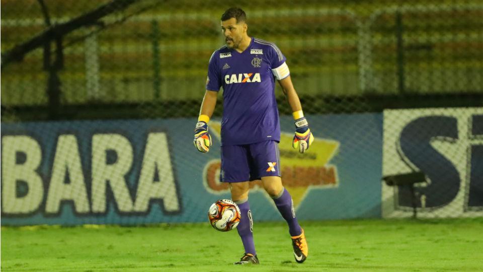 Julio Cesar reestreia Flamengo 2018 Carioca