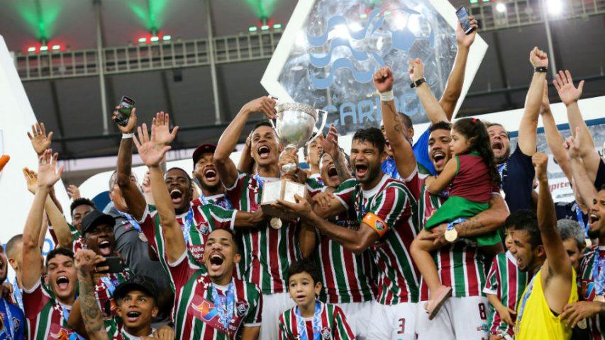 Fluminense campeão Taça Rio 2018