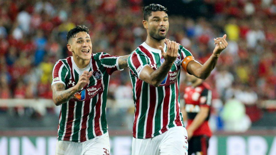 Gum Fla-Flu gol Taça Rio 2018