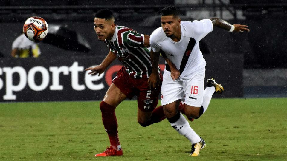 Gilberto Henrique Vasco Fluminense Engenhão Carioca 2018