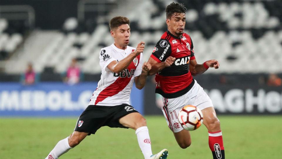 Lucas Paquetá Flamengo Libertadores estreia 2018