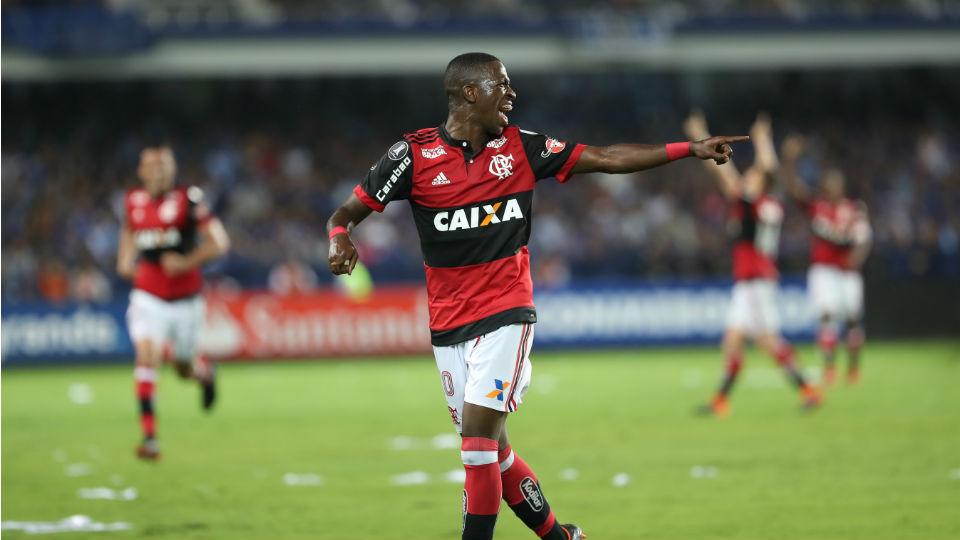Vinicius Junior Flamengo Emelec 2018 gol