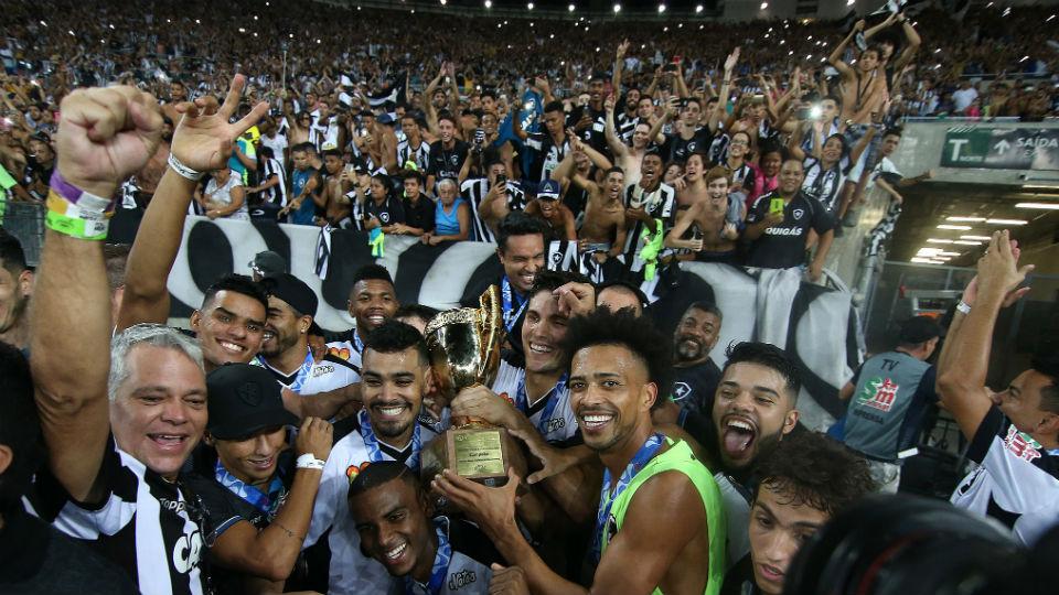Botafogo taça Campeonato Carioca 2018 campeão